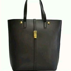 Adrienne Vittadini Modern Edge Black Handbag